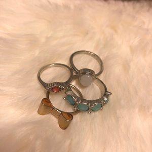 Various Rings Lot (Free W Bundle)